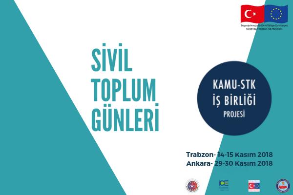 Sivil Toplum Günleri Kasım ayında Trabzon ve Ankara'da