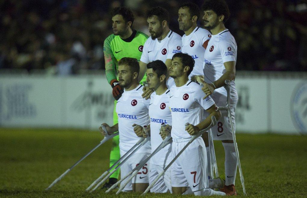 Türkiye Ampute Milli Takımı Dünya İkincisi
