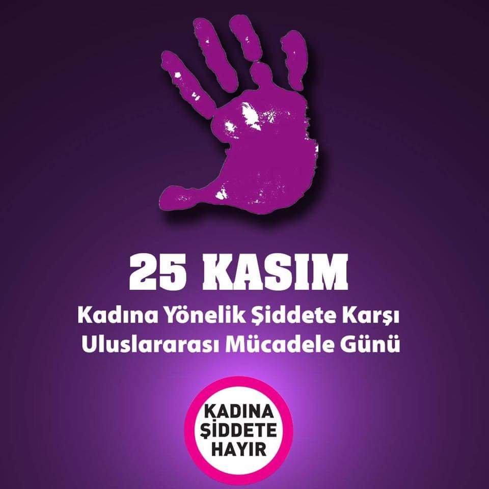 25 Kasım Kadına Yönelik Şiddete Karşı Uluslararası Mücadele Günü / Kadınların Eylem Takvimi