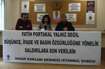 İHD: İfade ve Basın Özgürlüğüne Yönelik Saldırılara Son Verilmeli