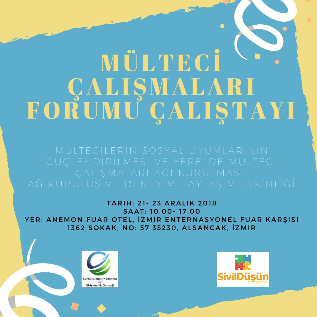 Mülteci Çalışmaları Forumu Çalıştayı