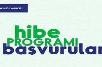 Sabancı Vakfı Hibe Programı Başvuruları Açılıyor