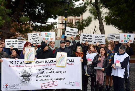 İHD ve TİHV İnsan Hakları Günü'nde Türkiye'nin Karnesini Açıkladı