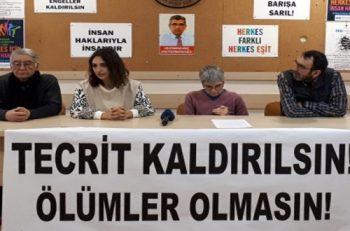 İHD: Açlık Grevi Yapan Mahpusların Hakları Korunmalı