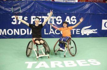 Emirhan Toper Fransa'daki Turnuva'da Çiftler Şampiyonu Oldu