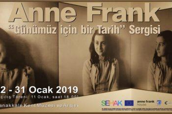 Anne Frank Günümüz İçin Bir Tarih Sergisi Çanakkale'de Açılıyor