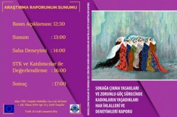 Göçizder Diyarbakır'da Kadınların Yaşadıkları Hak İhlallerini Tartışacak