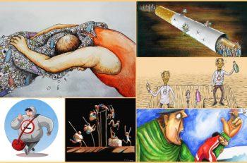 Uluslararası Yeşilay Karikatür Yarışması'nın Sonuçları Açıkladı