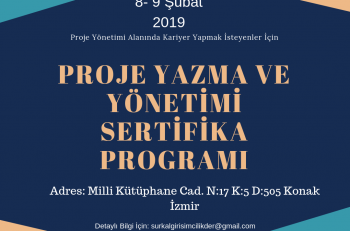 Sürdürülebilir Kalkınma ve Girişimcilik Derneği Proje Yazma ve Yönetimi Sertifika Programı