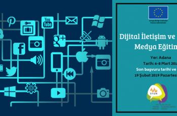 Dijital İletişim ve Sosyal Medya Eğitimi Adana Başvuruları Başladı