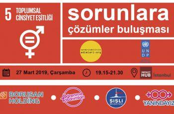 5. Sorunlara Çözümler Buluşması: Toplumsal Cinsiyet Eşitliği