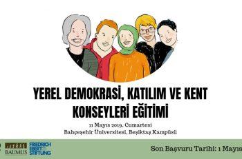 """""""Yerel Demokrasi, Katılım ve Kent Konseyleri Eğitimi"""" Katılımcılarını Arıyor"""