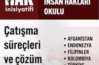 Diyarbakır İnsan Hakları Okulu'nda Çatışma Çözümü Deneyimleri Tartışıldı
