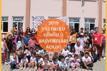 Genç Hayat Vakfı 2019 Yaz Okulu Gönüllülerini Arıyor