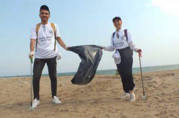 'Deniz Varsa Hayat Var' Diyen Mersin Konseyi'nden Çevre Temizliği