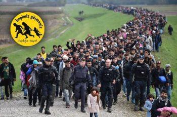 Göçmenlere Yönelik Nefreti Durduralım!
