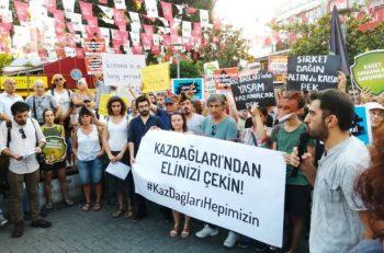Yaşam Savunucuları, Kazdağları İçin İstanbul'da Buluştu