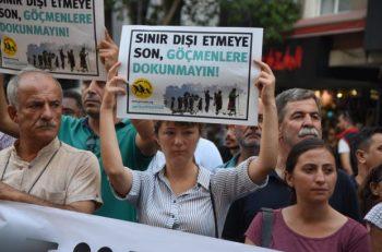 İzmir'deki STK'lardan çağrı: Mültecilik Suç Değildir