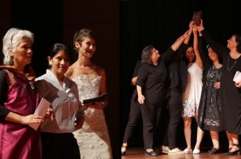 11. Hrant Dink Ödülü Nebahat Akkoç ve Agnes Kharshiing'in