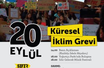 İklim Aktivistleri 20 Eylül'de Kadıköy'de!
