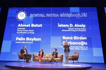 Sosyal Fayda Zirvesi'ne Sosyal Girişimci Damgası…