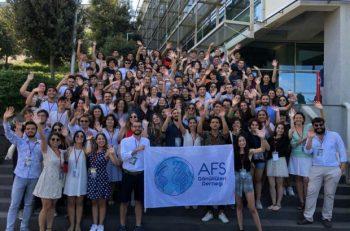"""AFS Gönüllüleri'nin Talebi: """"Daha Adil Ve Barış Dolu Bir Dünya"""""""