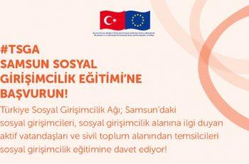 Türkiye Sosyal Girişimcilik Ağı-Samsun Sosyal Girişimcilik Eğitimi
