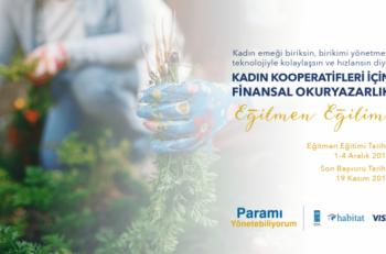 Kadın Kooperatifleri için Finansal Okuryazarlık Eğitmen Eğitimi