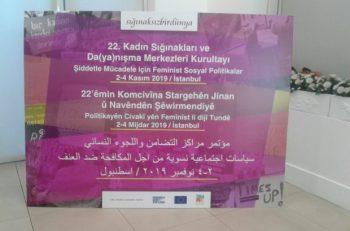 22. Kadın Sığınakları ve Da(ya)nışma Merkezleri Kurultayı Sığınaksız Bir Dünya İçin Toplandı
