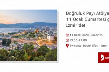 Doğruluk Payı Atölyesi'nin Sıradaki Durağı İzmir!