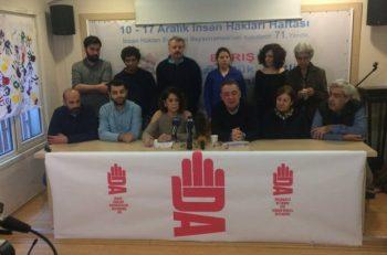 İnsan Hakları Savunucuları Dayanışma Ağı Kuruldu