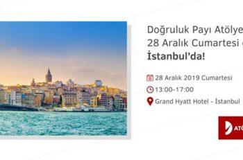 Doğruluk Payı Atölyesi 28 Aralık'ta İstanbul'da