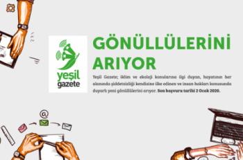 Yeşil Gazete Gönüllülerini Arıyor