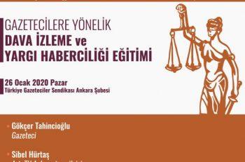Gazetecilere Yönelik Dava İzleme ve Yargı Haberciliği Eğitimi