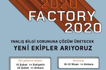 Factory 2020 Katılımcılarını Arıyor