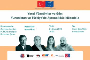 """""""Yerel Yönetimler ve Göç: Yunanistan ve Türkiye'de Ayrımcılıkla Mücadele"""" Paneline Davetlisiniz"""