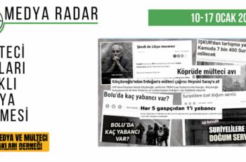Medya Radar'a Altıncı Haftada 347 Haber Takıldı
