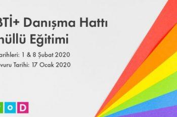 LGBTİ+ Danışma Hattı Gönüllü Eğitimi Başlıyor