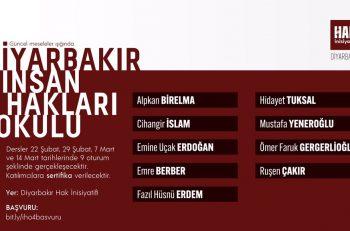 Diyarbakır İnsan Hakları Okulu 4. Kez Başlıyor