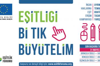 Eşitlik Forumu 'Ayrımcılık' Konulu Grafik Tasarım Yarışması Düzenliyor