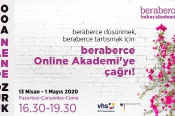 beraberce Akademi Çevrimiçi (Online) Eğitimleri Başlıyor!