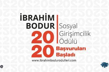 İbrahim Bodur Sosyal Girişimcilik Ödülü Başvuruları Bugün Başlıyor