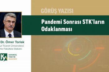 Pandemi Sonrası STK'ların Odaklanması