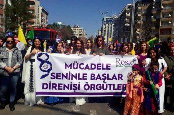 Hak Savunucularından Rosa Kadın Derneği Üyelerinin Tutuklanmasına Tepki: <br> ''Yapılanlar Hukuksuzluk Örneğidir''