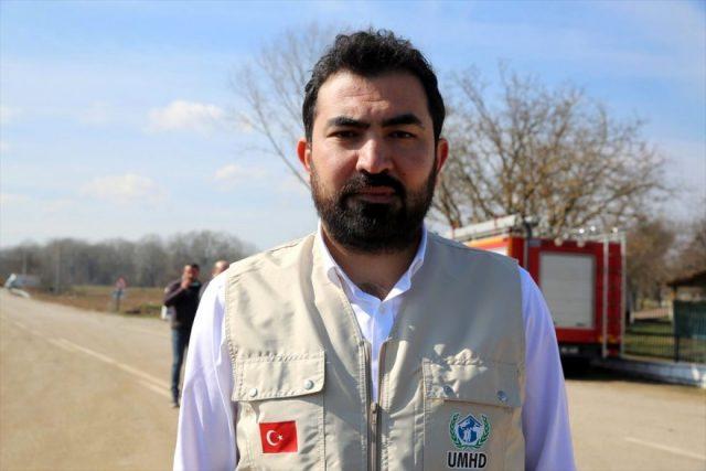 Uluslararası Mülteci Hakları Derneği (UMHD) Başkanı Abdullah Resul Demir