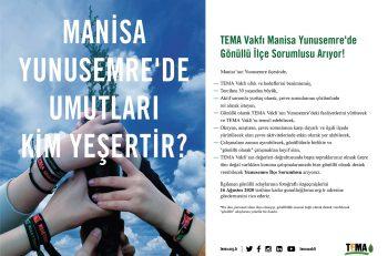 TEMA Vakfı Manisa Yunusemre'de Gönüllü İlçe Sorumlusu Arıyor!
