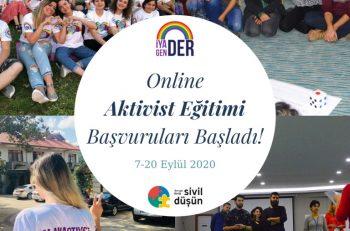 Online Toplumsal Cinsiyet Aktivist Eğitimi Başvuruları Başladı