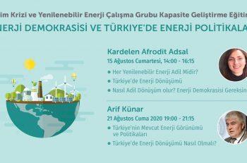 İklim Krizi ve Yenilenebilir Enerji Kapasite Geliştirme Eğitimine Davetlisiniz!