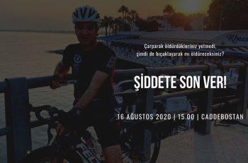 Bisikletler Şiddetin Her Türlüsüne Karşı Çıkmak için Sürülüyor