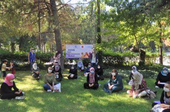 MUDEM, 'Kadın Kadına Sohbetler'i Çimlere Taşıdı